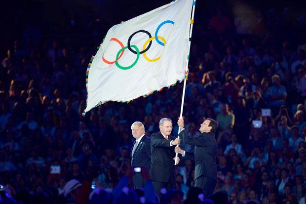 Bandera de Presidente a Brasil