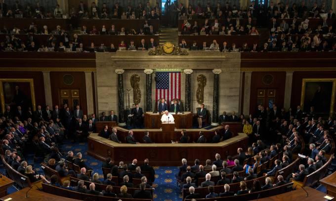 Papa en Congreso