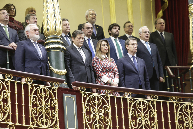 40 aniversario de la Constitución Española en el Congreso de los Diputados