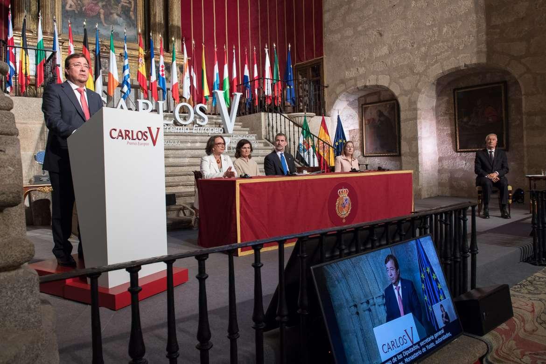 Protocolo Premio Europeo Carlos V