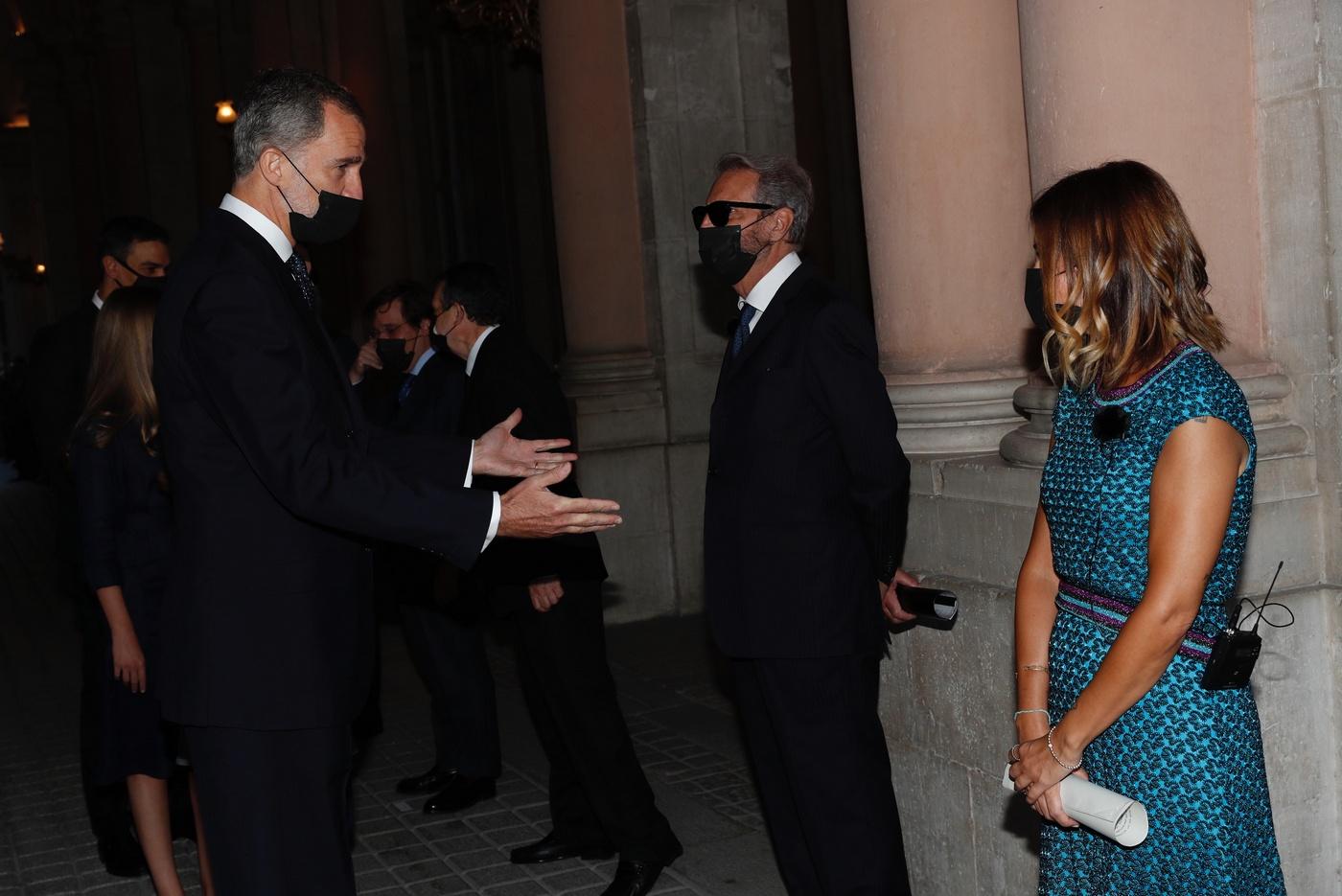Ceremonia de estado en Palacio Real