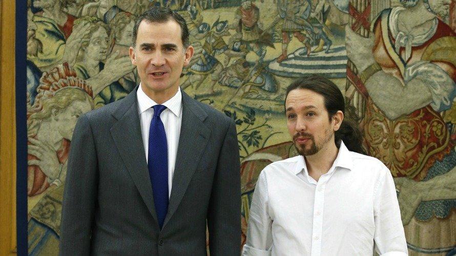 Rey con Iglesias