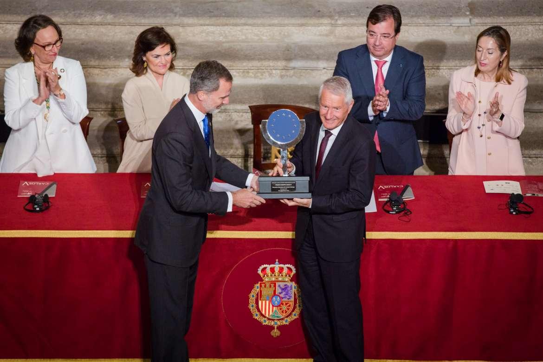 Protocolo entrega del Premio Europeo Carlos V