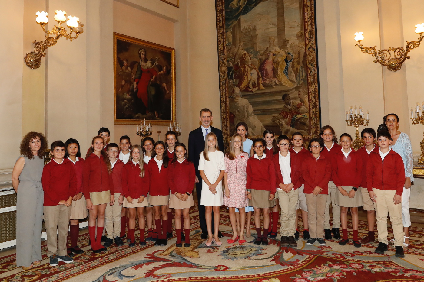 Aniversario del rey Felipe VI