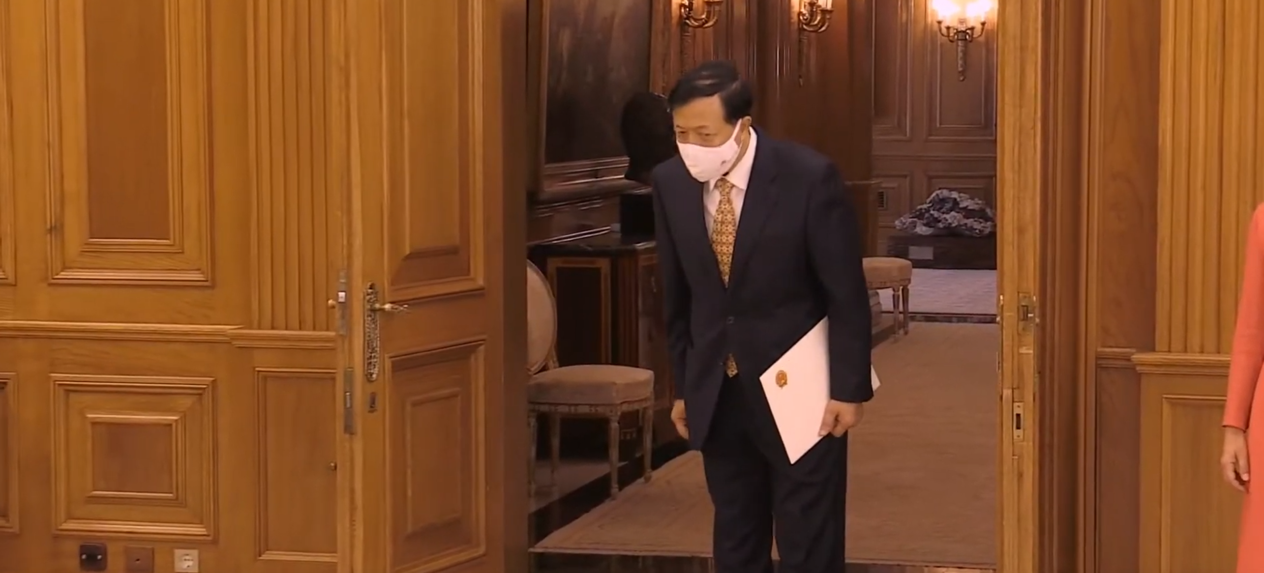 Presentación de Cartas Credenciales ante el rey Felipe VI.