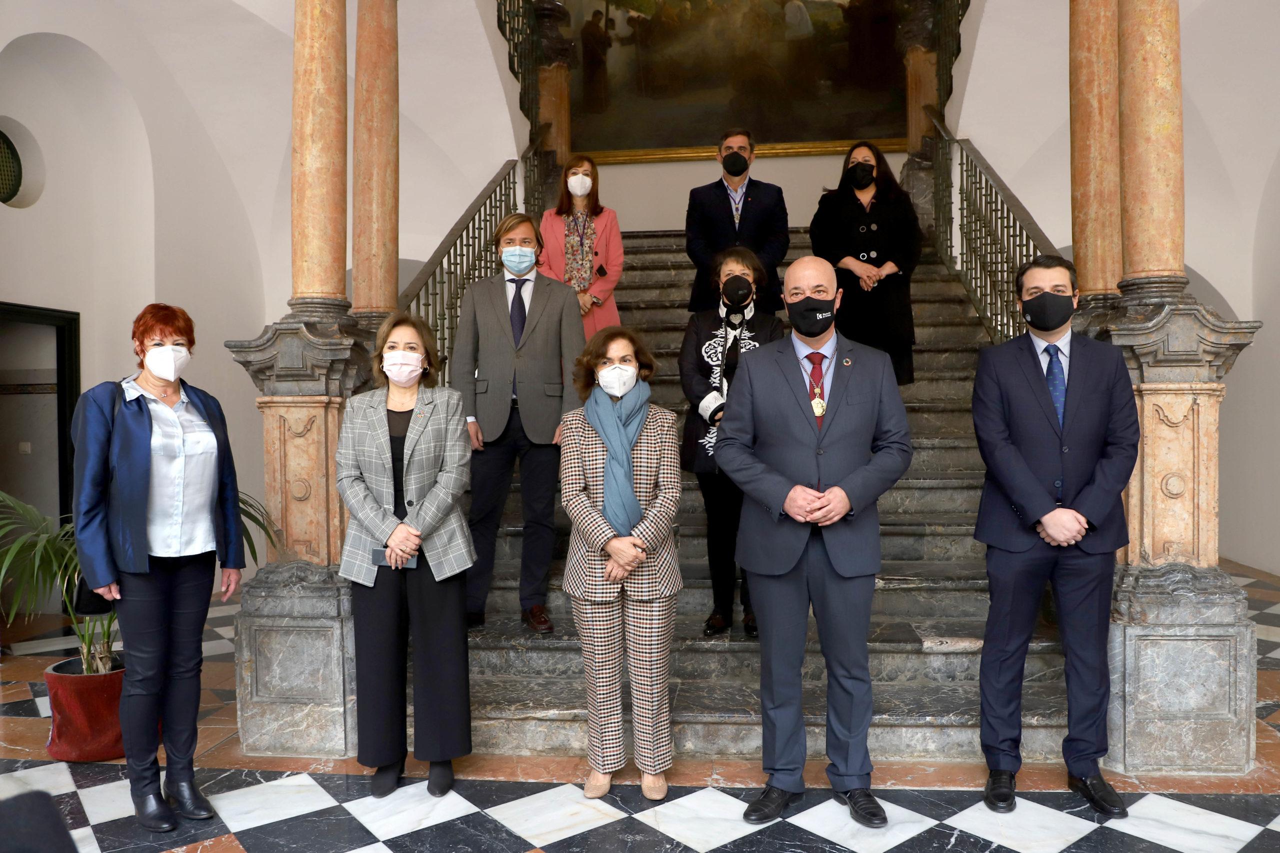 Protocolo homenaje en Córdoba